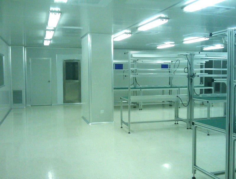 电子厂无尘车间针对不同工位照明需求是如何的